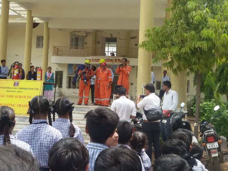 Fire & Safety Program By ONGC